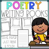 Writer's Workshop Paper Poetry Booklet