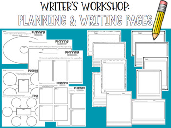 Writer's Workshop: Planning & Writing Pages