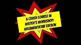 Writer's Workshop Posters: Argumentative Edition