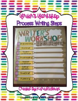 Writer's Workshop: Process Writing Steps