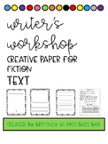 Writer's Workshop Publishing Paper With Rubric