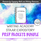 Writer's Academy / STAAR Expository Writing Prep Packets