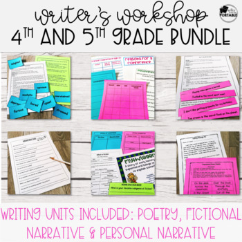 Writer's Workshop Series: Creative Writer's Workshop Bundle - 4th and 5th Grade
