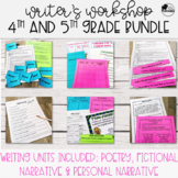 Writer's Workshop Bundle - 4th and 5th Grade
