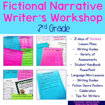 Fictional Narrative Writer's Workshop (Grade 3)