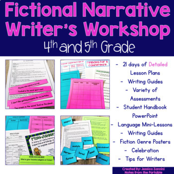 Writer's Workshop Series: Grades 4-5 Fiction