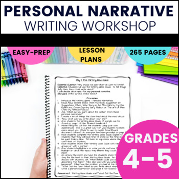 Narrative writing mini lessons 5th grade popular research paper writing for hire for masters