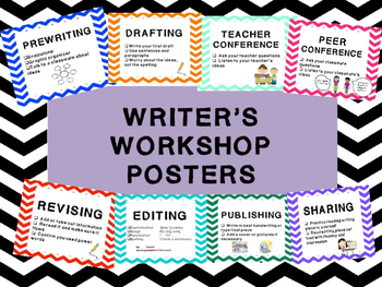 Writer's Workshop Signs/Posters for clip chart