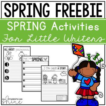Writer's Workshop - Spring FREEBIE