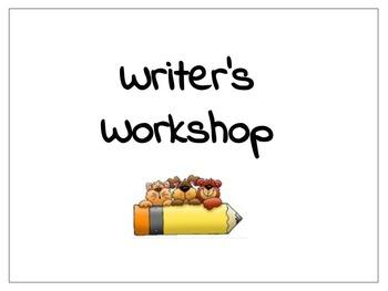Writer's Workshop Stations - First Grade