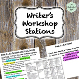 Writer's Workshop Stations (Informative Essay editing and revising stations)