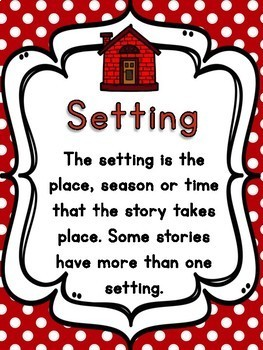 Writer's Workshop Story Elements FREEBIE; Character, Setting, Problem, Solution