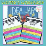 Writer's Workshop Story Idea Jars