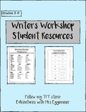 Writer's Workshop Student Resources