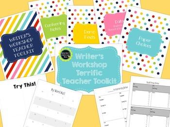 Writer's Workshop Terrific Teacher Toolkit