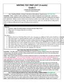 Writer's Workshop - Test Prep Unit for PARCC  3rd grade