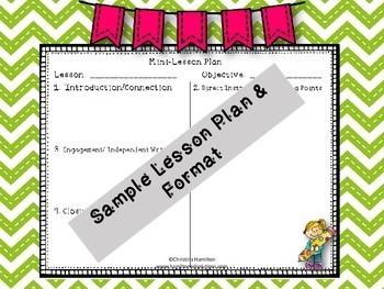 Writer's Workshop Training Presentation for Grades K - 5