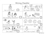 Writer's Workshop Unit by Unit Student Checklists and Writing Templates