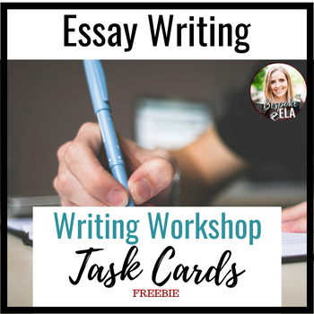 Writer's Workshop Wrap-up Task Cards-- FREEBIE