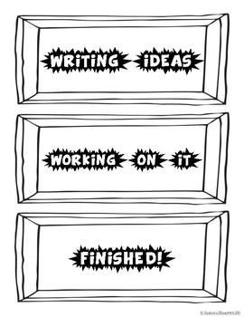 Writer's Workshop freebie