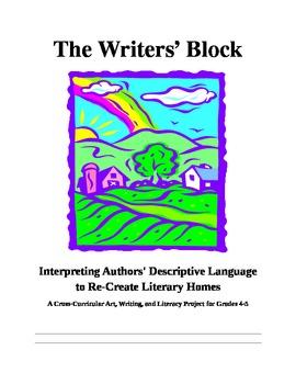Writers' Block Descriptive Language and Mentor Text Lesson Plan