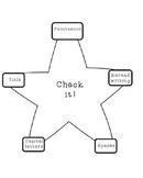 Writer's Check Resource Black and White