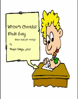 Writer's Checklist Made Easy