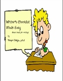 Writer's Checklist Made Easy