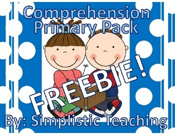 Primary Reading Comprehension FREEBIE Generic Pack Non Specific Book