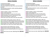 Writer's Checklist-make them self-monitor!
