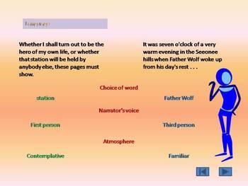 Writer's Choices - IB Oral