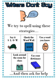 Writers Don't Say: How Do I Spell? - Writing Minilesson