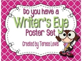 Writer's Eye Editing Posters