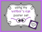 Writer's Eye Editing Posters- Black & White Borders