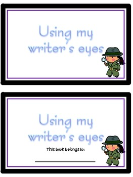 Writers Eye - FREEBIE