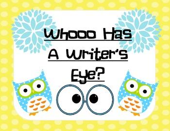Writer's Eye Owl Theme