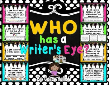 Writer's Eye Posters {Bright Colors}