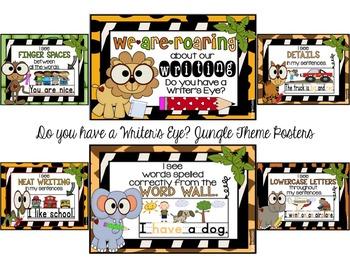 Writer's Eye Posters: Jungle Theme