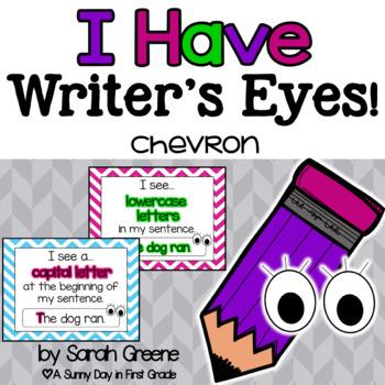 Writer's Eyes {chevron}