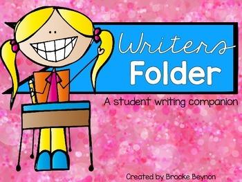 Writers Folder