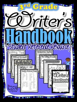 Writing Handbook: 3rd Grade Student Reference Resource