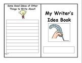 Writer's Idea Book