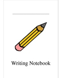 Writer's Notebook Binder Cover