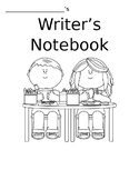 Writers Notebook Cover Sheet