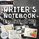 Writer's Notebook Essentials Kit