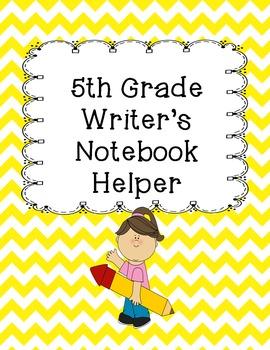 Writer's Notebook Helper