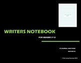 Writers Notebook - Journal Questions Edition 2