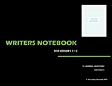 Writers Notebook - Journal Questions Edition 3
