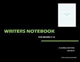 Writers Notebook - Journal Questions Edition 4