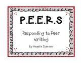 Writer's Notebook: P.E.E.R.S. Responding to Peer Writing
